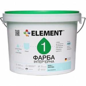 Краска Element 1 белый 2,5л