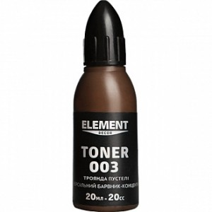 Колер Element Decor Toner роза пустыни 20 мл