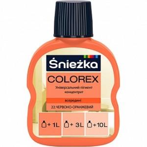 Пигмент Sniezka Colorex красно-оранжевый 100 мл