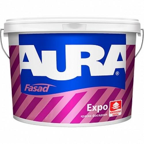 Краска Aura Fasad Expo TR база под тонировку 0,9л 1,28кг