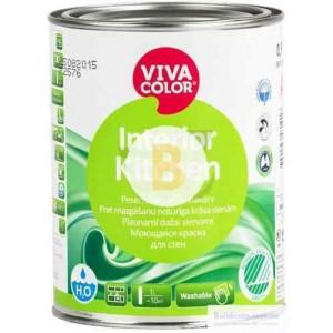 Краска Vivacolor Interior Kitchen, база А белый 0,9л 1,1кг