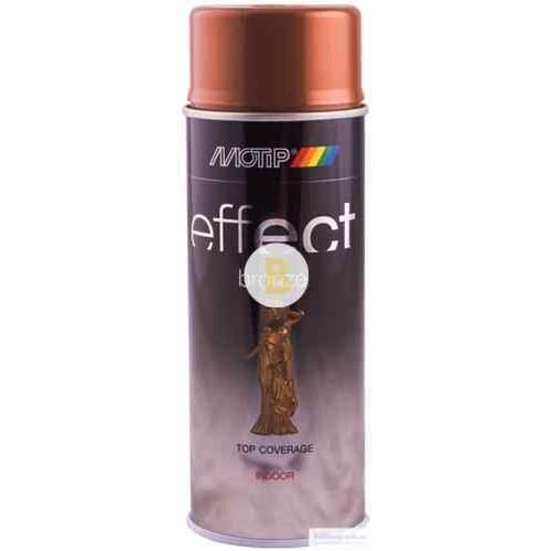 Аэрозольная краска Motip Deco Effect с эффектом бронзы античное золото 400 мл
