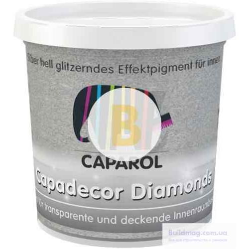 Глиттер Caparol Capadecor Diamоnds 75 г серебристый
