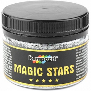 Глиттер MAGIC STARS Kompozit диамант