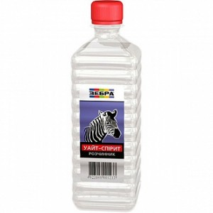 Растворитель Уайт-спирит ZEBRA 0,5 л