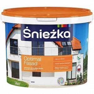 Краска Sniezka Optimal Fasad белый 5л