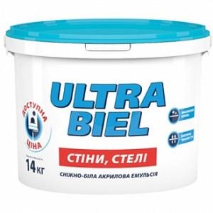 Краска Sniezka Ultra Biel белый 5л 7кг
