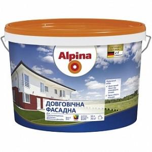 Краска Alpina Довговечная B1 белый 2,5л