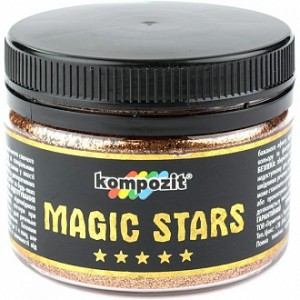 Глиттер MAGIC STARS Kompozit бронзовый