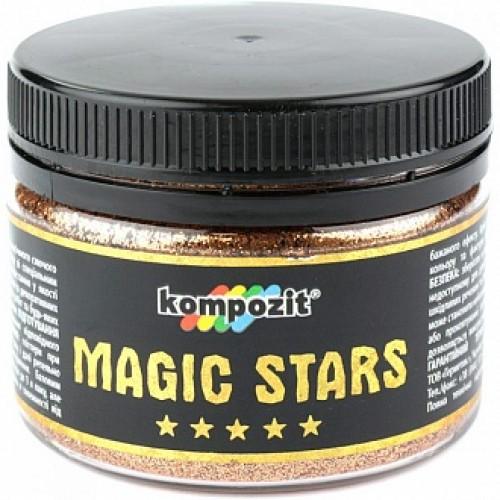 Глиттер MAGIC STARS Kompozit бронзовый