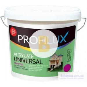 Краска PROFILUX Acrylate Universal белый 3,5кг