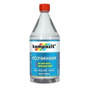 Растворитель универсальный Kompozit 0,5 л