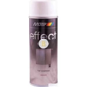 Аэрозольная краска Motip Deco Effect для бытовых радиаторов белый глянец 400 мл