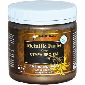 Декоративная краска Feidal Metallic Farbe старая бронза 0.4 л