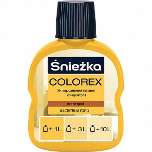 Пигмент Sniezka Colorex орех светлый 100 мл