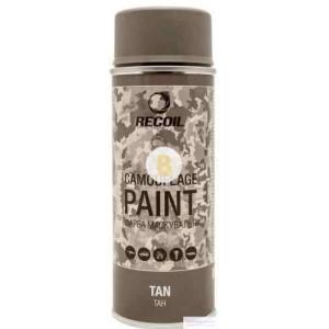 Краска маскировочная в баллончике Recoil Тан 400 мл