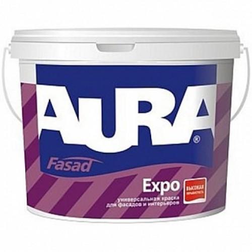 Краска Aura Fasad Expo белый 1л 1,48кг