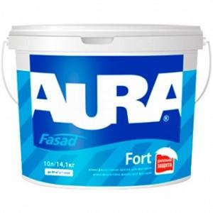 Краска Aura Fasad Fort белый 1л 1,41кг