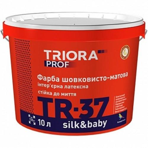 Краска Triora TR-37 silk&baby база под тонировку 1л