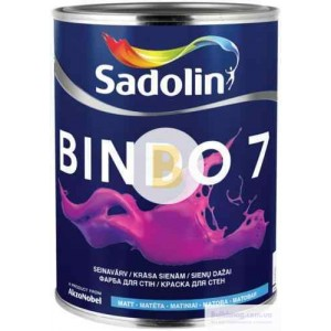 Краска Sadolin Bindo 7 WO белый 1л