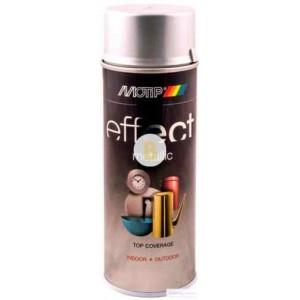 Аэрозольная краска Motip Deco Effect с эффектом металлик серебряный бриллиант 400 мл