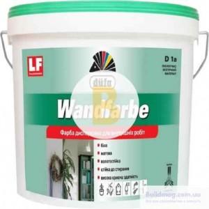 Краска акриловая водоэмульсионная Dufa Wandfarbe D1a мат белый 3,5кг