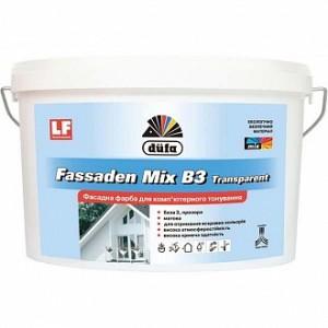 Краска Dufa Fassaden Mix B3 Transparent база под тонировку 4,5л