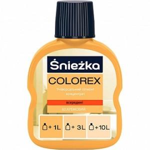 Пигмент Sniezka Colorex кремовый 100 мл