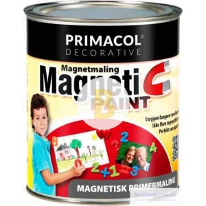 Краска магнитная PRIMACOL DECORATIVE черный 0.75 л