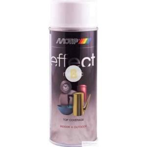 Аэрозольная краска Motip Deco Effect с эффектом металлик алюминий 400 мл