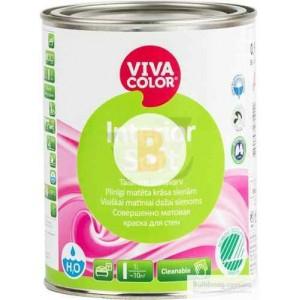 Краска Vivacolor Interior Soft, база С база под тонировку 0,9л 1,2кг
