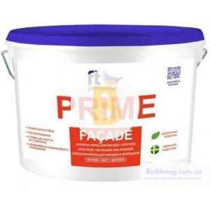 Краска латексная водоэмульсионная FT Professional Prime Facade Base A глубокий мат белый 3л