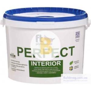 Краска латексная водоэмульсионная FT Professional Perfect Interior Base А мат белый 1л