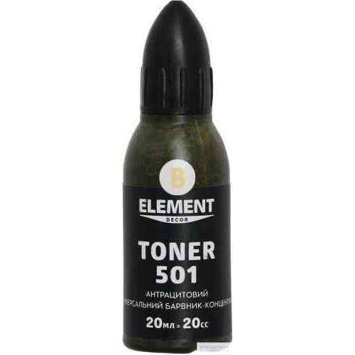 Колер Element Decor Toner антрацитовый 20 мл