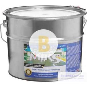 Краска MIKS Color для бетонных поверхностей серый мат 12кг