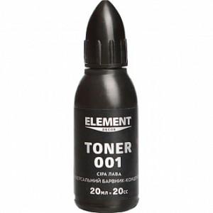 Колер Element Decor Toner серая лава 20 мл