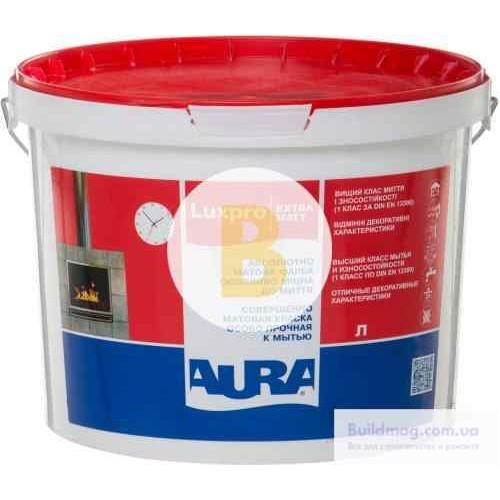 Краска акриловая Aura Luxpro ExtraMatt TR мат база под тонировку 0.9л
