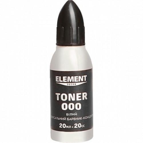 Колер Element Decor Toner белый 20 мл