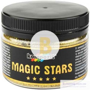 Глиттер Kompozit MAGIC STARS золото 0,06 кг