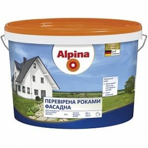 Краска Alpina Проверенная годами белый 10л