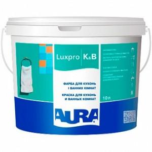 Краска Aura Luxpro K&B белый 1л 1,216кг