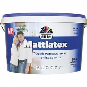 Краска Dufa Mattlatex D100 белый 10л 14кг