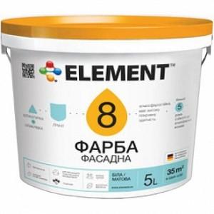 Краска Element 8 белый 10л