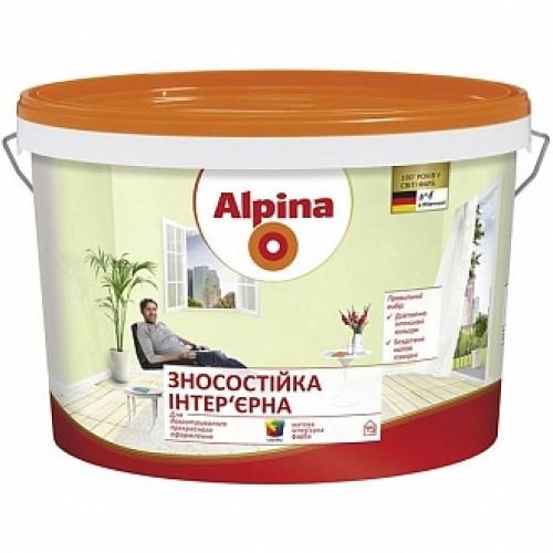 Краска Alpina Износостойкая B3 база под тонировку 1л