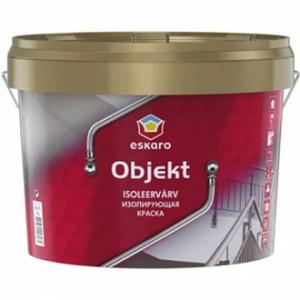 Краска Eskaro Objekt белый 0,9л 1,4кг