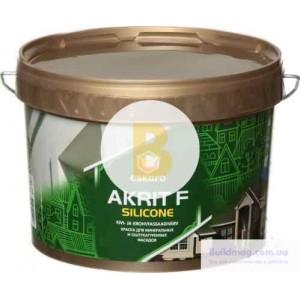 Краска акрилатная Eskaro Akrit Fasad Silicone TR база под тонировку 2,7л