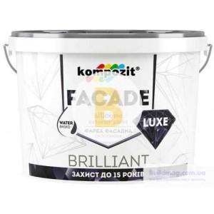 Краска силиконовая Kompozit Facade Luxe база С мат база под тонировку 1.4кг
