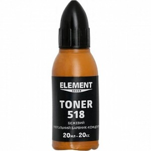 Колер Element Decor Toner бежевый 20 мл