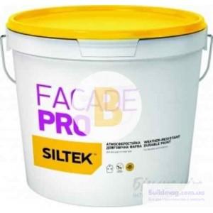 Краска латексная Siltek FACADE PRO База FА мат белый 0.9л
